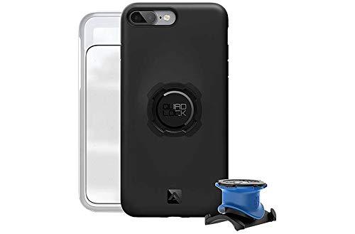 QUAD LOCK Bike Kit-iPhone 7 8 Plus Halterungen, schwarz, One Size