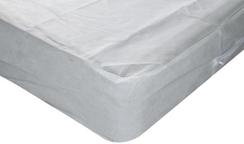 Sleep Calm Nonwoven Zippered Box Spring Encasement with Bed Bug Defense, Queen by Fashion Bed Group (Spring Box Bug)