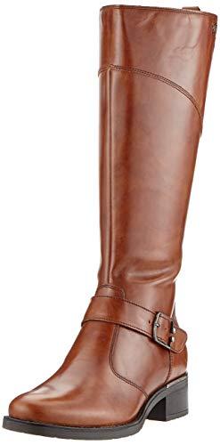 Tamaris Damen 1-1-25553-23 Hohe Stiefel, Braun (Cuoio 455), 40 EU