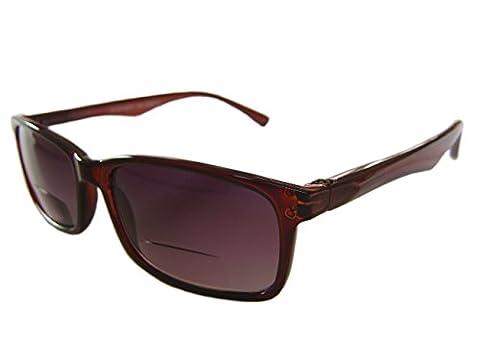 'SANTIAGO' Unisex Bifocal Sunglasses/Sunreaders. Power +2.00 by 'EyeSpecialEyes'