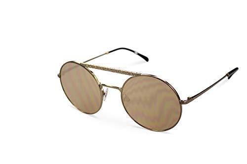 Chanel Sonnenbrille Damen Sunglasses CH4232 col. C470-T6 Gold (53-21)