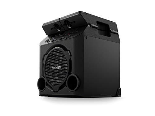 Sony GTK-PG10 High Power Party Lautsprecher (One Box Hifi Music System, integrierter Akku) schwarz Power-lautsprecher-system