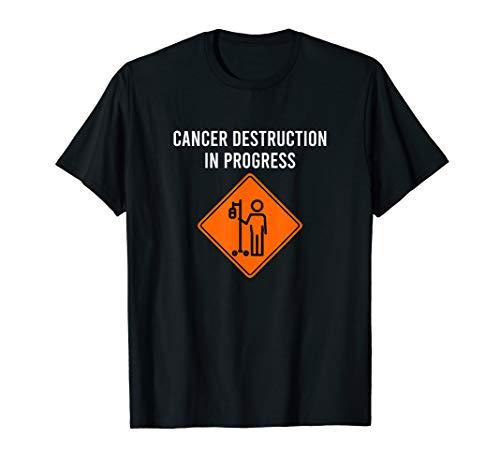 Lustiger Witz Chemo Tageskrebs-Zerstörung laufendes Meme T-Shirt
