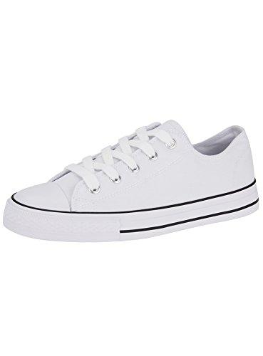 Sneakers bianche per donna Oodji Ultra nCx2huL