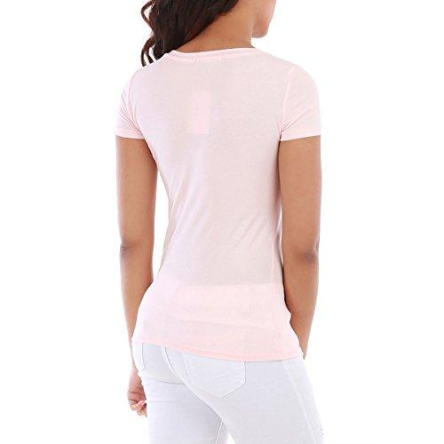 La Modeuse T-Shirt Manches Courtes Rose