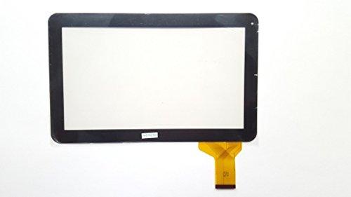 Schwarz Touchscreen Digitizer glas komp. Mit Denver Taq 10133