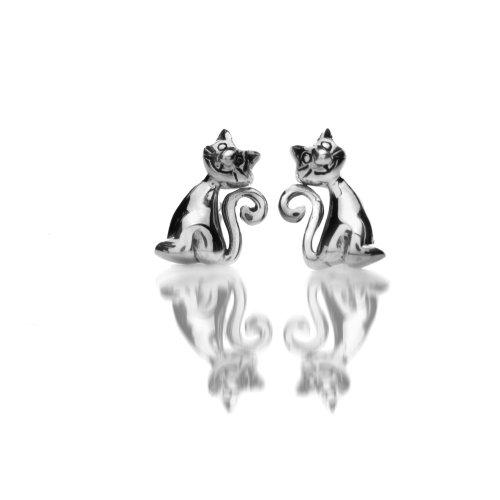 azzaria-plata-rizado-cola-plata-gato-stud-pendientes-longitud-1-cm