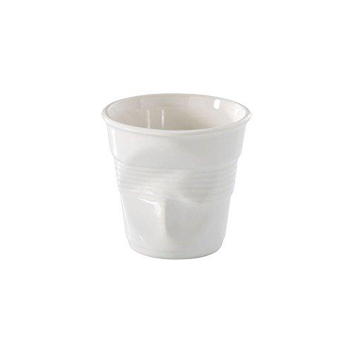 Revol - Gobelet froissé Blanc 8cl