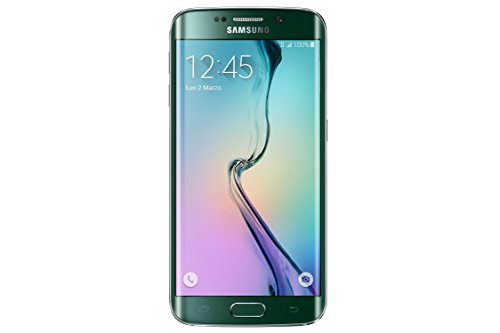 Samsung G925 Galaxy S6 edge Smartphone, 32 GB, Verde [Italia]