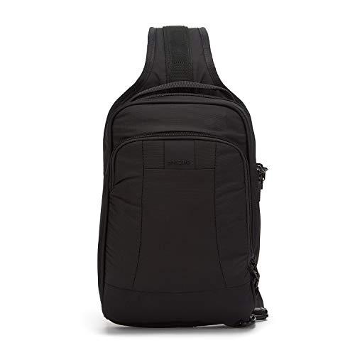 Pacsafe Metrosafe LS150Diebstahlschutz Sling Rucksack, schwarz (schwarz) - 30415 (Gitter-sling-rucksack)