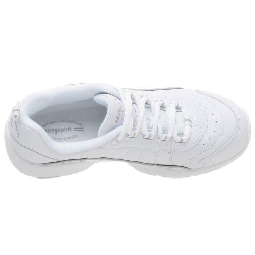 Easy Spirit Women's Punter Athletic Shoe,White/Light Grey,6 WW White/Light Grey