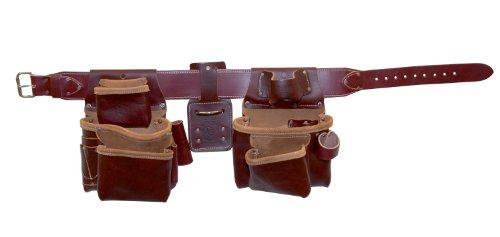 Occidental Leather Pro 5080XXXL gefräste Werkzeug Gürtel Paket, XXXL (Tool Duty Leather Heavy Bag)