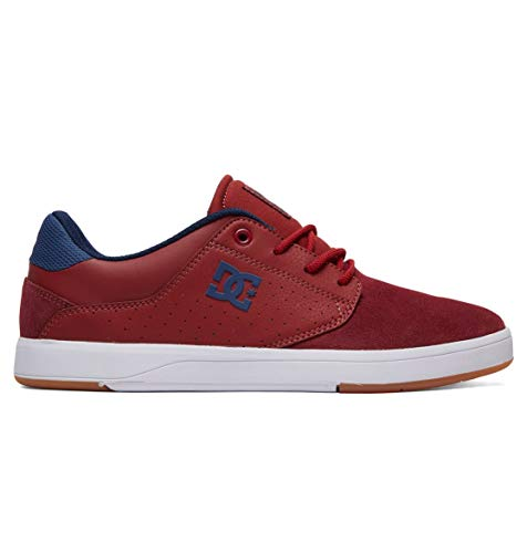 DC Shoes Plaza - Leather Shoes for Men - Schuhe - Männer - EU 44 - Rot