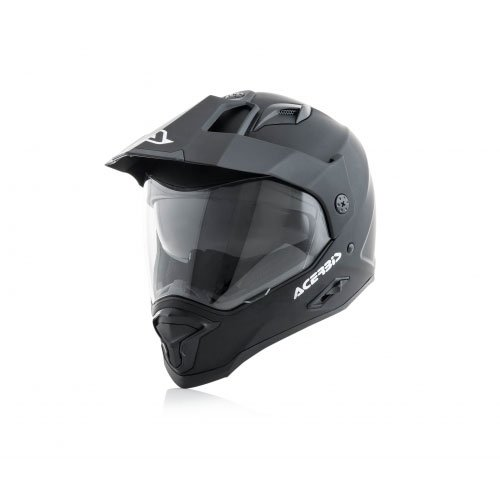 Acerbis, Casco jet aria Nero, Medium ( 57-58 cm)