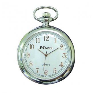 Ravel White Rose Gold Pocket Watch R1001.40