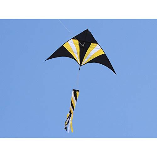 ZSYF Drachen Kite Outdoor Fun Sports Regenbogen Dreieck Drachen Mit Windsack Griff Und Linie Gutes Fliegen