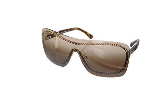 CHANEL Sonnenbrille Chaine CH4243 c.395/S5 Randlos Monoscheibe Havnnabraun