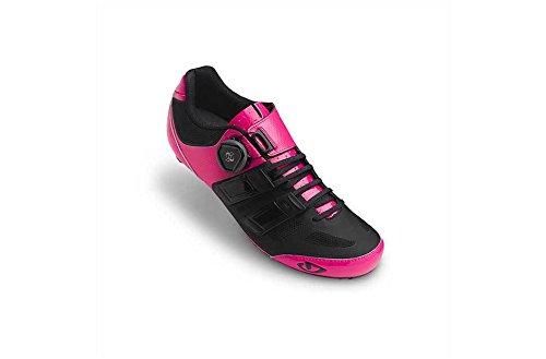Giro Raes Techlace 17 Rennradschuhe Damen Pink/Schwarz, 39