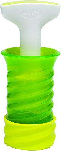 Chef'n Gefrierkräuterspender Herbsicle, Aufbewahrung für frische Kräuter zum Einfrieren, Gefrierbehälter aus Kunststoff (Farbe: Grün/Weiß), Menge: 1 Stück