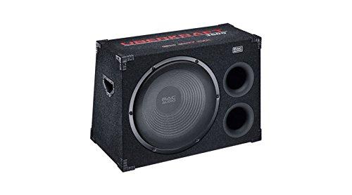 Mac Audio Überkraft 3800 | 380 mm Doppel-Bassreflex-Port Gehäusesubwoofer | 1500 Watt | Hochwertiges Push-Terminal - schwarz - Doppel-audio-subwoofer