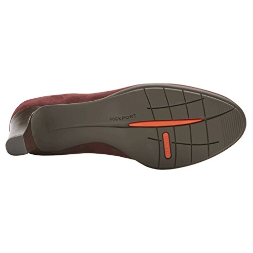 Rockport Womens Melora Suede Shoes Merlot