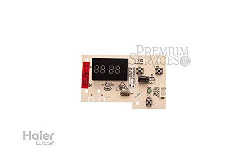 Original Haier-Ersatzteil: Display für Kühlschrank Herstellernummer SPHA00044844 | Kompatibel mit den folgenden Modellen: HB21FWRSSAA;HB22FWNN | display panel in door