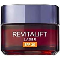L'Oréal Paris Crema de Día Anti-Edad con Protección Solar (SPF20) Revitalift Láser, con Proxylane - 50 ml