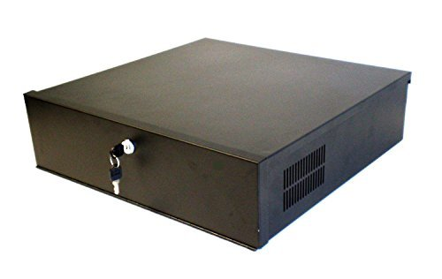 Dvr Security Lock Box (Smart Security Club DVR Lock-Box, 18 x 18 x 5 inch, Fan, Heavy Duty 16 Gauge by Smart Security Club)