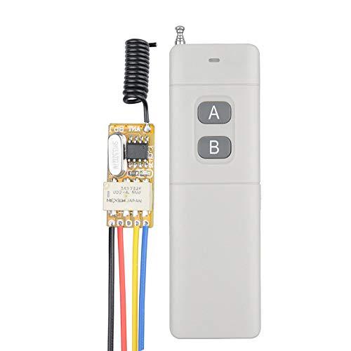 Gerade 433 Mhz Universal Wireless Fernbedienung Dc 12 V 4ch Relais Empfänger Modul Rf Schalter 4 Taste Fernbedienung Tor Garage Opener 100% Garantie Fernbedienungen