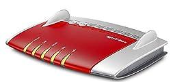 AVM FRITZ!Box 3490 (VDSL-/ADSL2+, Dual-WLAN AC + N mit 1.300 MBit/s (5 GHz) + 450 MBit/s (2,4 GHz), 4x Gigabit-LAN, Mediaserver, geeignet für Deutschland