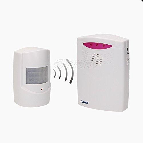 Detector de movimiento inalámbrico con timbre para entrada, 120metr