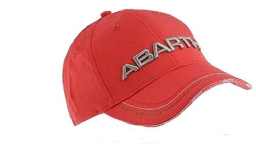 Abarth-logo (Abarth Rally Fiat 3D gesticktes Logo rot Gap)