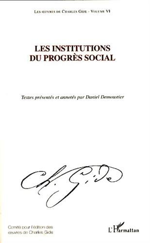Les oeuvres de Charles Gide, volume 6: L...