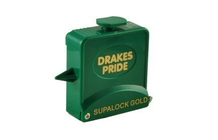 Drakes Pride Supalock Gold bowls measure - blue
