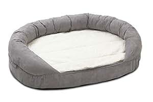 Karlie Hundebett Ortho Bed Oval, grau, 118 x 72 x 24 cm