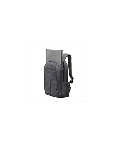 """RIVACASE Notebook Rucksack bis 15.6\"""" - Stilvolle Tasche aus wasserabweisenden Material und extra verstärkten Seiten - Grau"""