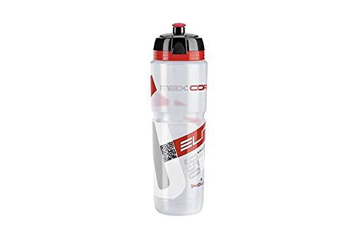 Elite Trinkflasche Supercorsa Maxi Corsa MTB Clear Rot, Transparent, 1 Liter