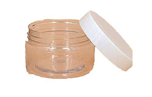 6 PCS 120 ml Contenants de cosmétiques en plastique transparent Slip Slide récipients pour aliments ronds avec couvercles pour baume à lèvres Make Up poudre de fard à paupières