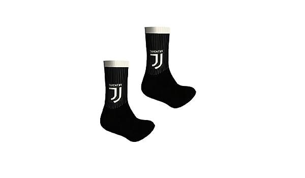 Lot 2/Paires Chaussettes /éponge courtes Juve Juventus officielles Homme Enfant Taille 39/ /42. Juventus F.C