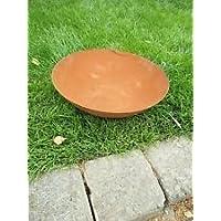 Garteninspiration Feuerschale 35cm Durchmesser echter Rost