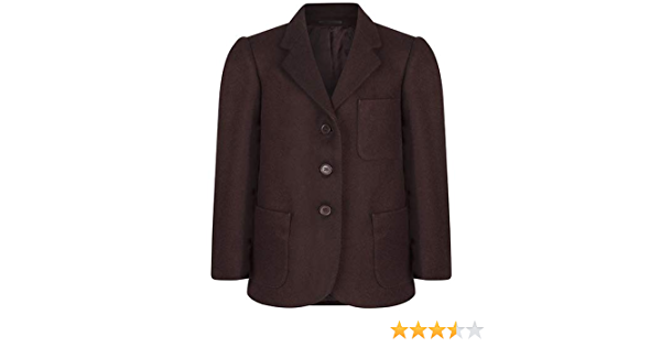 Girls Grey Beau Brummel 100/% Wool School Blazer 2 or 3 buttons