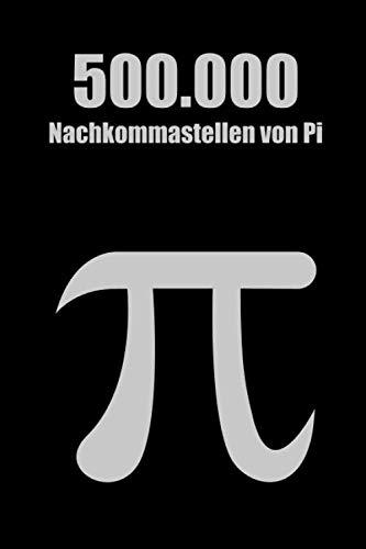 500.000 Nachkommastellen von Pi