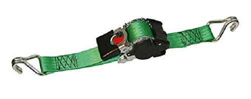 4 Stck Automatik Spanngurt Zurrgurt Aufrollfunktion 750/1500 kg, 3,0 m x 50 mm