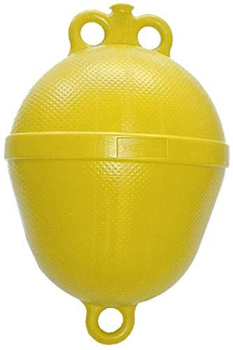 Navyline Polyethylen Mini Mooring Boje - 390 mm x Ø 250 mm, Farbe:gelb -