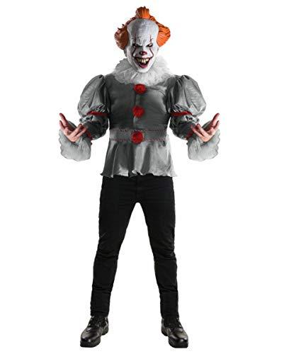 Original Pennywise ES Kostüm als Horrorclown Verkleidung für Halloween One ()