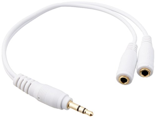 SeCro™ Single 3.5mm Male to Dual 3.5mm Female Y Splitter Audio Auxillary Cable for Headphone and Speakers (Buy Original SeCro Brand from only Backbencer's Seller to get SeCro Warranty)  available at amazon for Rs.115