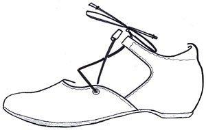 Pensare! Signore Imma Cinturini Alla Caviglia Neri