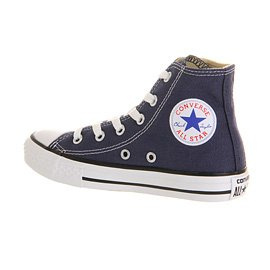 Converse - Youths Chuck Taylor All Star Hi - Sneakers Basses - Mixte Enfant Navy