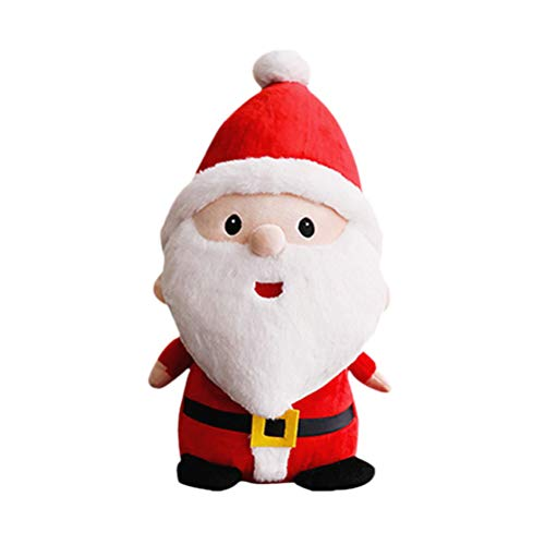 HEALIFTY Weihnachten Weihnachtsmann Plüsch Niedlichen Cartoon Weihnachtsmann Spielzeug Geschenk Weihnachten Desktop Decor für Home Hotel Shop (40 cm Höhe)