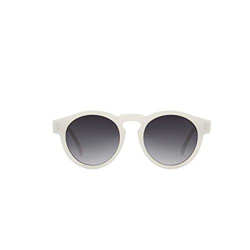 KOMONO Unisex-Erwachsene CLEMENT Brillengestelle, Weiß (Écru Milky White), 48